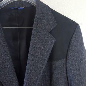 Pendleton Suits & Blazers - Vintage Pendleton Men's leather and wool jacket